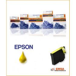 Compatible Epson T0714Y