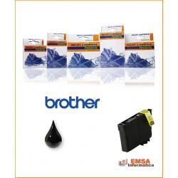Compatible Brother LC3213BK