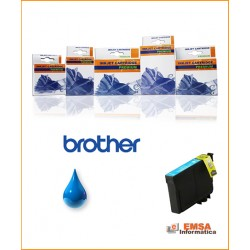 Compatible Brother LC1000C